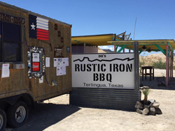 Rustic Iron BarBQue
